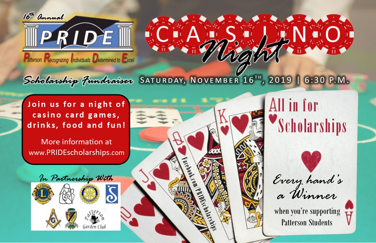 Pride Scholarship Casino Night